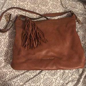 Michael Kors Tassel hobo bag in luggage